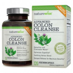 Advanced Detox & Cleanse with Digestive Enzymes for Colon Health & Weight Loss by NatureWise