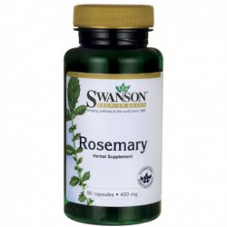 Rosemary, 400 mg 90 Capsules by Swanson