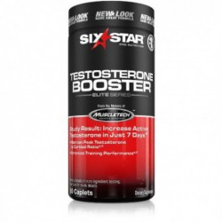Six Star Testosterone Booster, Caplets, 60 ea by Six Star