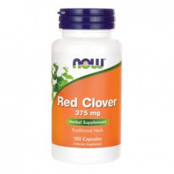 Red Clover, 100 Caps by NOW Foods
