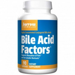 Bile Acid Factors, 90 Capsules By Jarrow Formulas