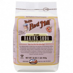 Pure Baking Soda, 16 oz  453 grams  Pkg by Bob s Red Mill