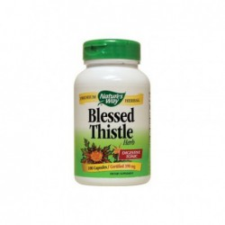 Blessed Thistle, 390 mg 100 Caps by Nature s Way