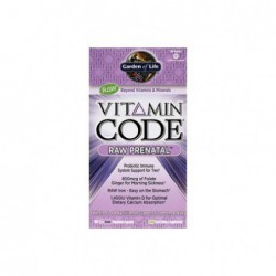 Vitamin Code RAW Prenatal, 180 Veg Caps by Garden of Life