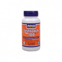 TestoJack 100, 60 Vcaps by NOW Foods