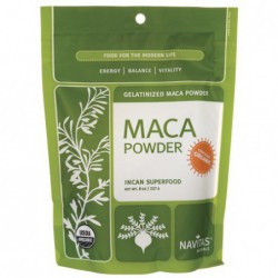 Gelatinized Maca Powder, 8 oz Powder by Navitas Naturals