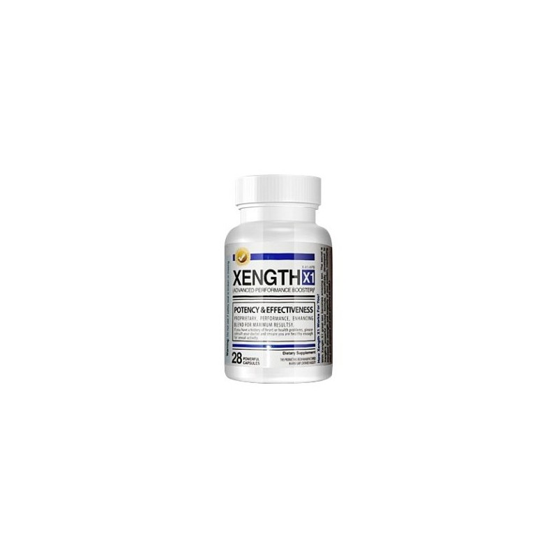 Xength X1 Male Performance Enhancer, 28 Capsules