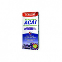 Hydroxycut Brazilian Acai with Green Coffee Extract, 60 Veg Caps  Best Before Date 30 Sep 2014