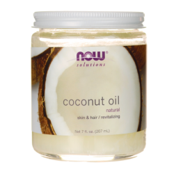 Coconut Oil, 7 fl oz (207 mL) Solid Oil