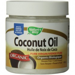 Organic Extra Virgin Coconut Oil, 16 oz by nature s way