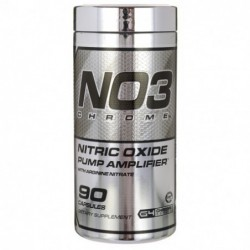 N03 Chrome Nitric Oxide Pump Amplifier, 90 Caps by Cellucor
