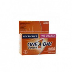 ONE A DAY WOMEN S FORMULA VITAMINS, 100 TABLETS BY BAYER