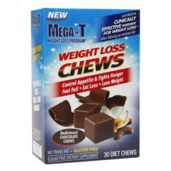 Mega-T Weight Loss Chews Controls Appetite, 30 Diet Chews by Mega-T