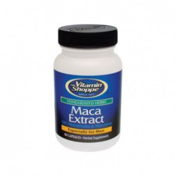 Maca Extract  Standardized Herbs , 60 capsules by Vitamin Shoppe