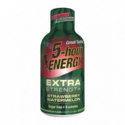5-hour ENERGY   EXTRA STRENGTH STRAWBERRY WATERMELON 12 x 57 ml Bottles