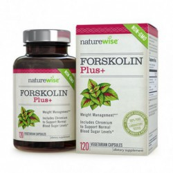 FORSKOLIN PLUS , 120 vegetarian capsules by nature wise