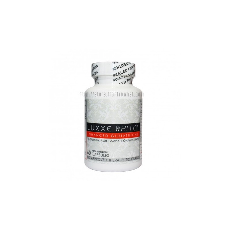 Luxxe White Enhanced Glutathione Skin Whitening Supplement, 60 capsules by Frontrow