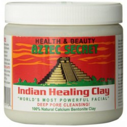 Indian Healing Clay Deep Pore Cleansing, 1 Pound by Aztec Secret