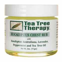 Eucalyptus Chest Rub, 2 oz Cream