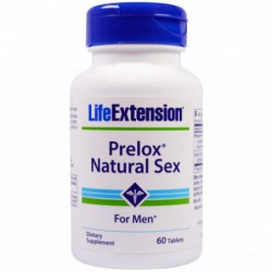 Prelox, Natural Sex For Men, 60 Tablets By Life Extension