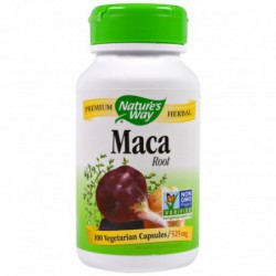 Maca Root, 525 mg, 100 Capsules By Nature s Way