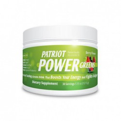 patriot power, 30 serving 5 55 oz by patriot health alliance