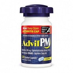 Advil   PM, 120 Caplets by Advil