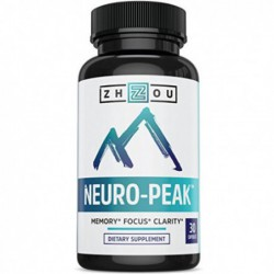 neuro-peak, 30 capsules by Zhou Nutrition