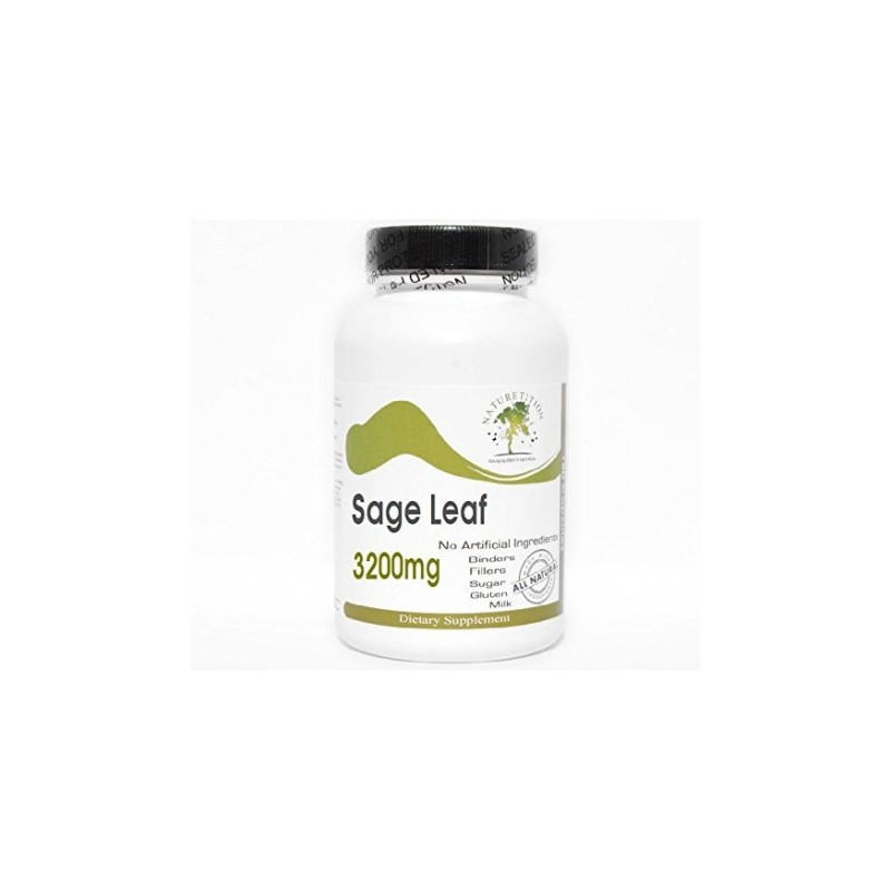 Sage Leaf 3200mg by PureControl Supplements