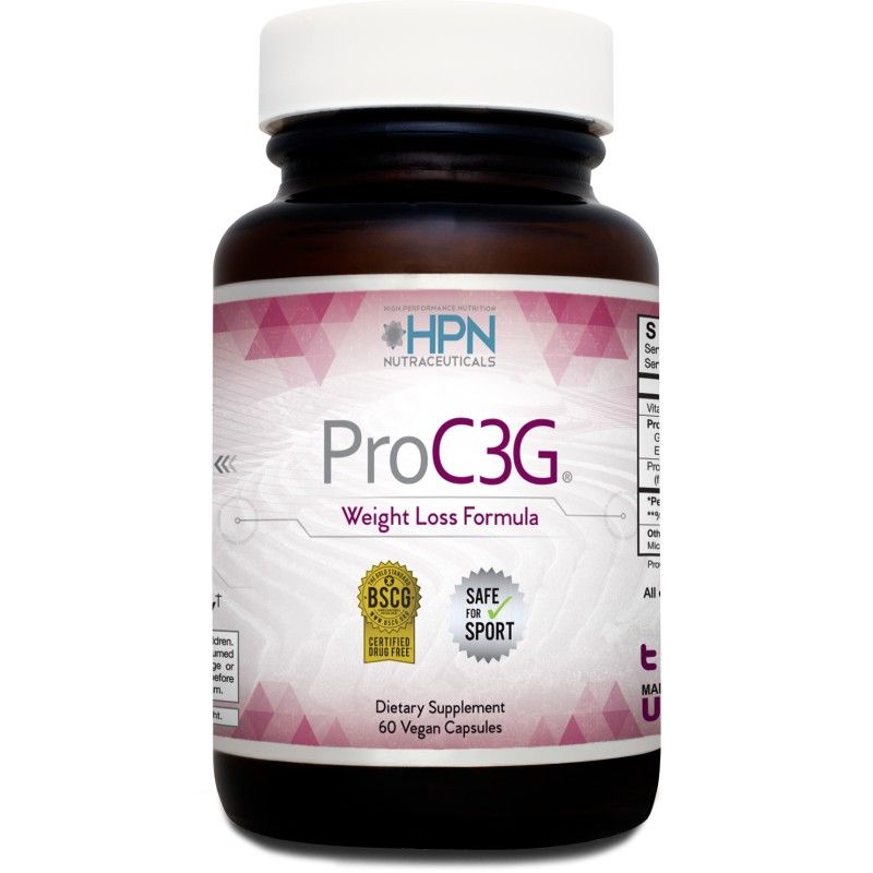 ProC3G Patented Fat Blocker, 60 Capsules By HPN Nutraceuticals