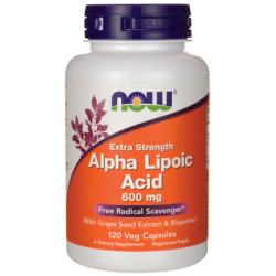Extra Strength Alpha Lipoic Acid, 120 Veg Caps