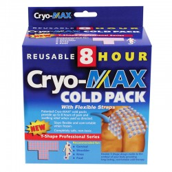 Cryo-Max Reusable 8 Hour Cold Pack, Pro( T shape ) by CryoMax