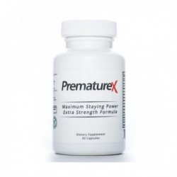 PrematureX Ejaculation Ejaculation Treatment, 30 Caps By PrematureX