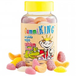 Calcium Plus Vitamin D for Kids, 60 Gummies By Gummi King
