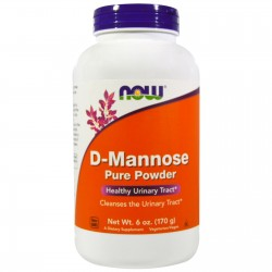 D-Mannose Pure Powder, 6 oz (170 grams) Pwdr