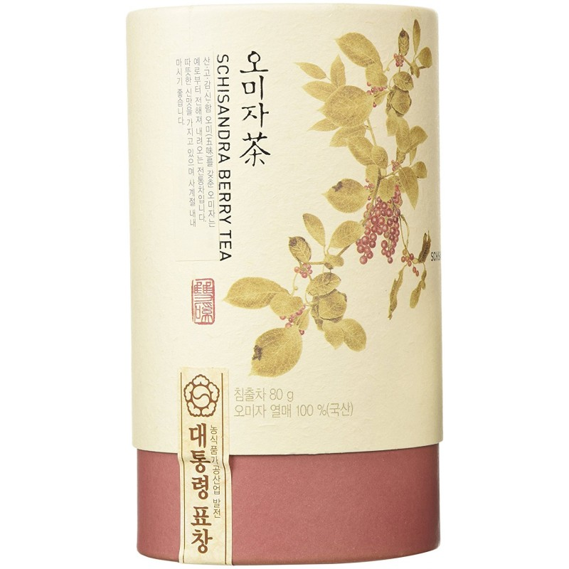 Korean Ssangkye Schisandra Berry (Omija) Tea, 80g  By Ssangkye Tea Company
