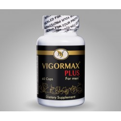VIGORMAX® PLUS, 60 Caps By Natural Fervor