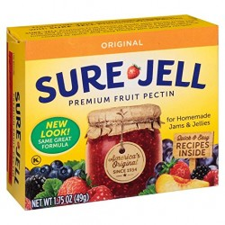 Sure-Jell Premium Fruit Pectin, 1.75 Ounce Box (Pack Of 8), By Sure Jell