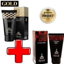 Titan Gel +Titan Gel GOLD MIX PACK 2x50 ML Russian Special Gel For MEN