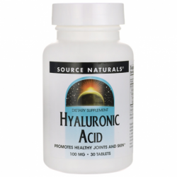 Hyaluronic Acid, 100 mg 30 Tabs