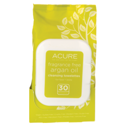 Argan Oil Cleansing Towelettes  Fragrance Free, 30 Ct
