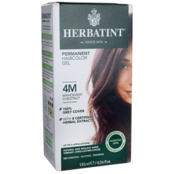 Permanent Haircolor Gel 4M Mahogany Chestnut, 1 Box
