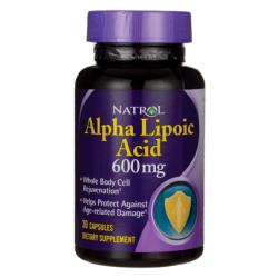Alpha Lipoic Acid, 600 mg 30 Caps
