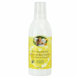 Natural NonScents Body Wash & Shampoo, 34 fl oz (1 liter) Liquid