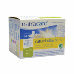 Natural Pads Ultra with Wings Regular, 14 Ct