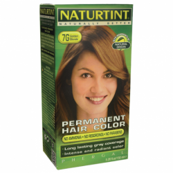 Permanent Hair Color  7G Golden Blonde, 1 Box