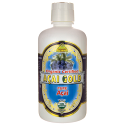 Organic Certified Acai Gold, 32 fl oz (946 mL) Liquid