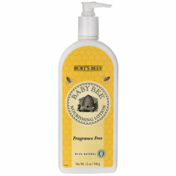 Baby Bee Nourishing Lotion Fragrance Free, 12 oz Lotion