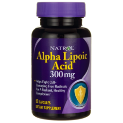 Alpha Lipoic Acid, 300 mg 50 Caps