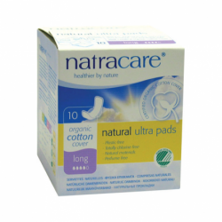 Natural Pads Ultra with Wings Long, 10 Ct